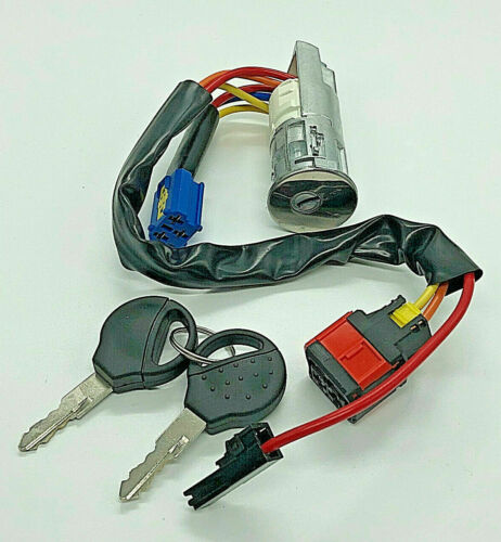 Para Citroen Xsara Picasso Peugeot 206 Teclas De Arranque Interruptor De Encendido Cerradura Barril
