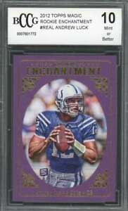 2012-topps-magic-rookie-enchantment-real-ANDREW-LUCK-colts-rookie-BGS-BCCG-10