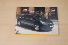 68909) Opel Corsa D Innovation Prospekt 01/2008