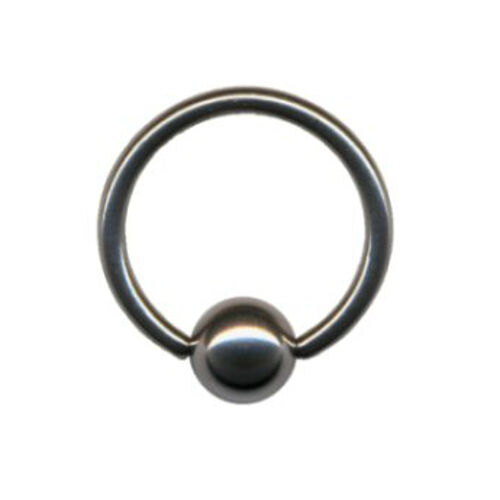 Ball Closure Piercing Klemmring  aus Titan