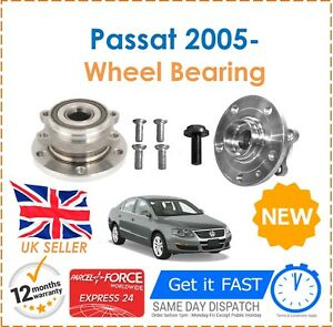 For-Passat-B6-1-4-1-6-1-9-2-0-TDI-2-5-3-2-2005-1-Front-Wheel-Bearing-Hub-Kit-x1