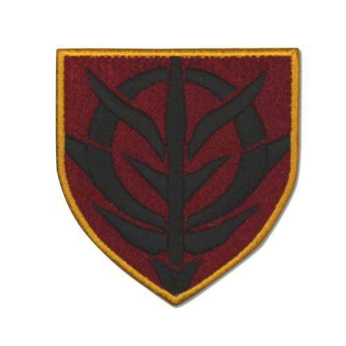 Mobile Suit Gundam Zeon Stencil Symbol Cospa Character Patch Wappen Badge Anime