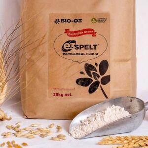 Bio-Oz-e3-Spelt-Wholemeal-Flour-20kg-Australian-Grown
