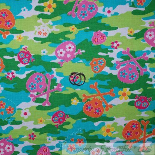 BonEful FABRIC FQ Cotton Quilt Blue VW Camper Van Surf Board Beach Boy Umbrella
