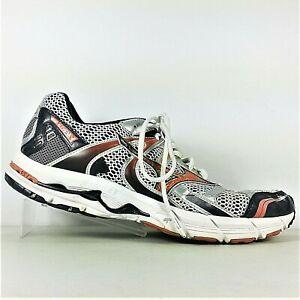 2a505ad4b832 Mizuno Wave Alchemy 10 Mens Silver Orange Black Athletic Shoes ...