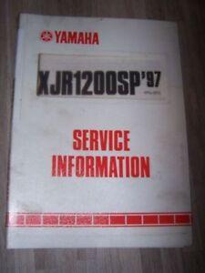 3x Supplement Manuel Atelier Service Information Yamaha Xjr1200sp Xjr 1200 Sp Promouvoir La Santé Et GuéRir Les Maladies