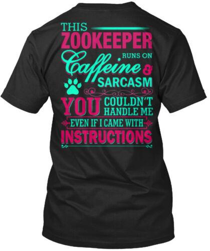 Zookeeper-vous droit poignée de Moi-Cette gardienne dirige Standard Unisexe T-Shirt