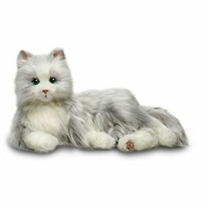 Ageless-Innovation-Joy-For-All-Companion-Pets-Silver-Cat-with-White-Mitts