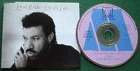 Lionel Richie Love Oh Love CD Single