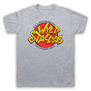 Shirt Billamp; Unofficial Wild Band Wyld T Stallyns Stallions Ted 5AjL4R