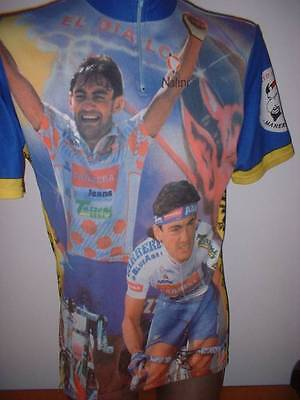 Chiappucci El Diablo Nalini Shirt Jersey Adult 7 Cycling Cycle Mountain Ciclismo