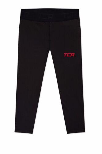 TCA Men's FX Laser Base Layer Compression Capri Running Leggings Tights
