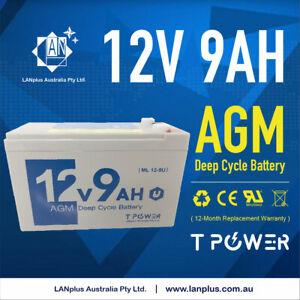 12V 9AH SLA AGM battery 60CCA Uninterruptible power supplies alam system 7AH