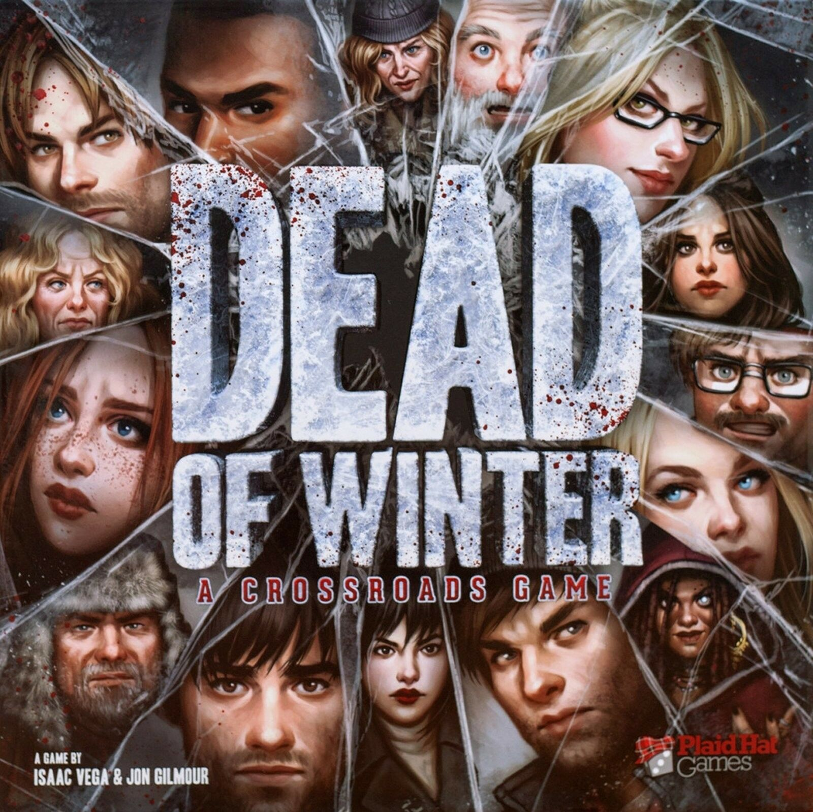 Plaid Hat Games  Dead of Winter A Crossroads Board Game (New)