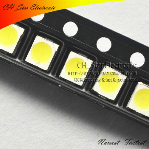 1000PCS 1210 3528 SMD SMT LED White light PLCC-2 Ultra Bright LEDS Chip