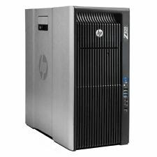 HP Z820 Workstation Intel Xeon E5-2620 24GB RAM 2TB HDD NVIDIA Quadro W10PRO