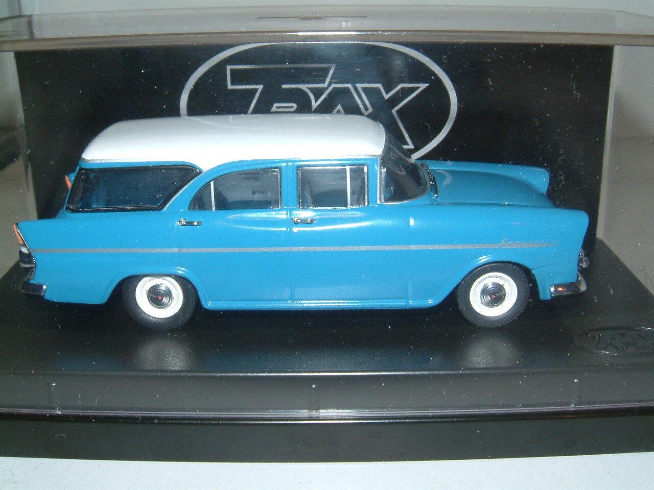 1 43 TRAX 1961 HOLDEN EK SPECIAL STATION WAGON IN Blau Weiß, AUSTRALIA TG