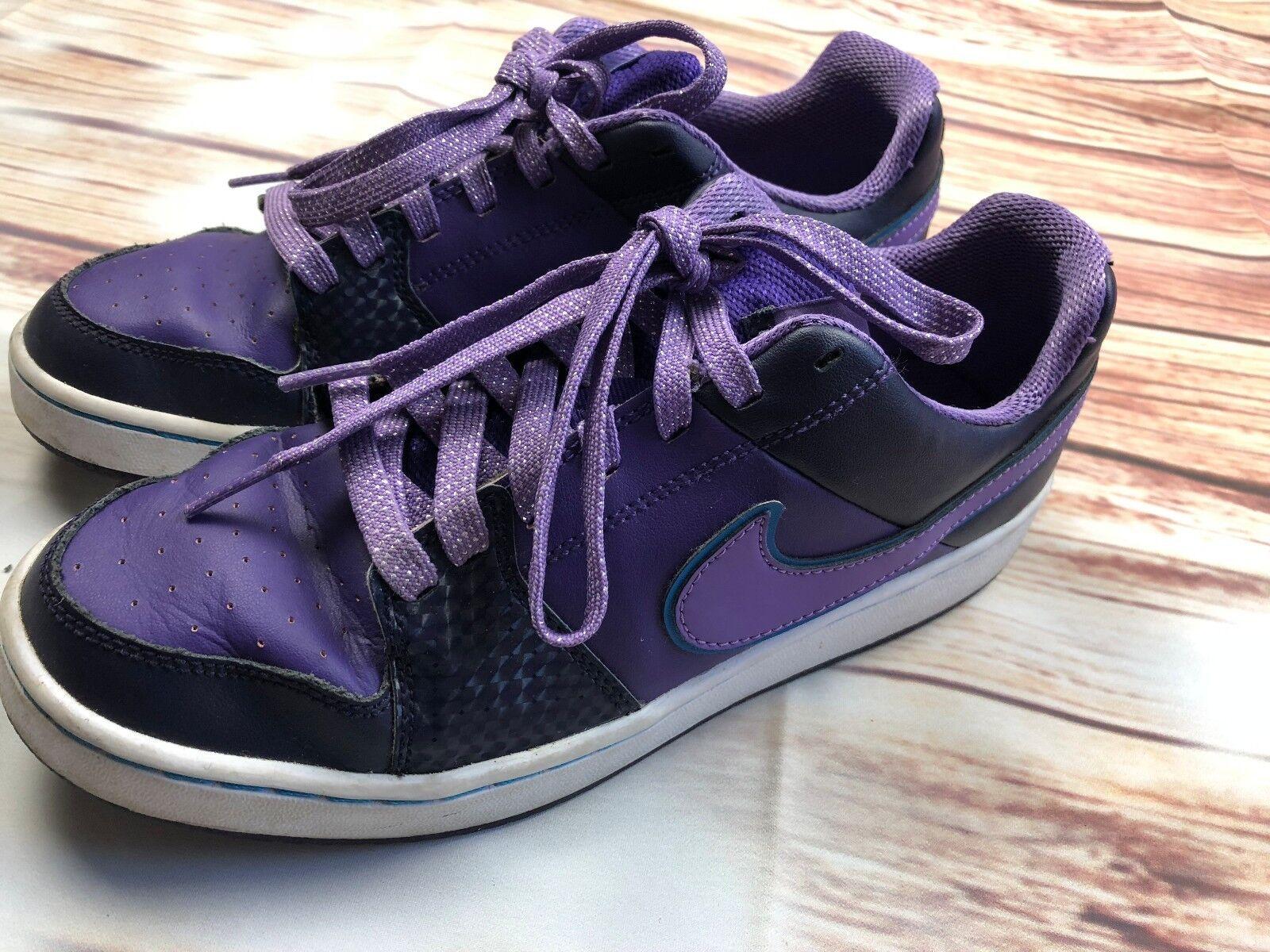 Le donne donne donne scarpe nike lace-up nero il Coloreeee viola scarpe taglia | Alta qualità e basso sforzo  268a12