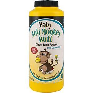 Baby Anti Monkey Butt Talc Free Diaper Rash Powder W