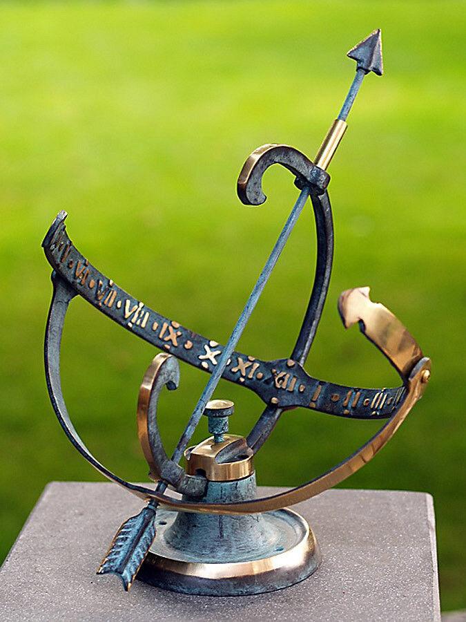 Meridiana, bronzo fuso H 25cm