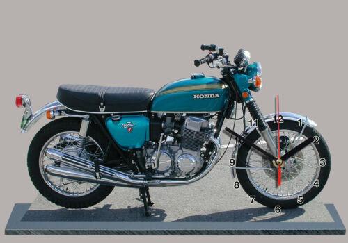 Miniatur Modell Moto in der Uhr HONDA 750 FOUR-03
