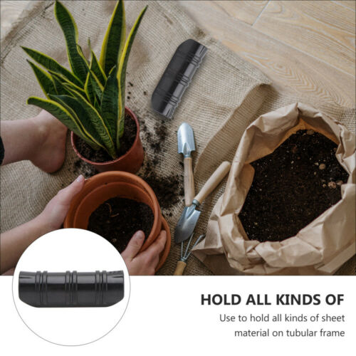 10Pcs Greenhouse Tube Film Netting Clip Snap Pipe Rod Tube Clamps Fixed Tools