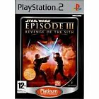 Star Wars Episode III: Revenge of the Sith -- Platinum Edition (Sony PlayStation 2, 2006) - European Version