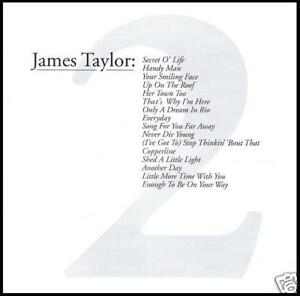 JAMES-TAYLOR-GREATEST-HITS-Vol-2-CD-HANDY-MAN-UP-ON-THE-ROOF-70-039-s-NEW