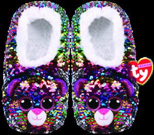685593de7632 Dotty Sequin Slipper Socks Ty Fashion new with tags Kids Children ...