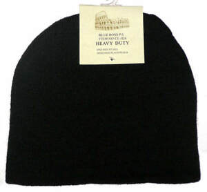 6cae8cd079494 Image is loading BRAND-NEW-WITH-TAGS-MENS-BLACK-BEANIE