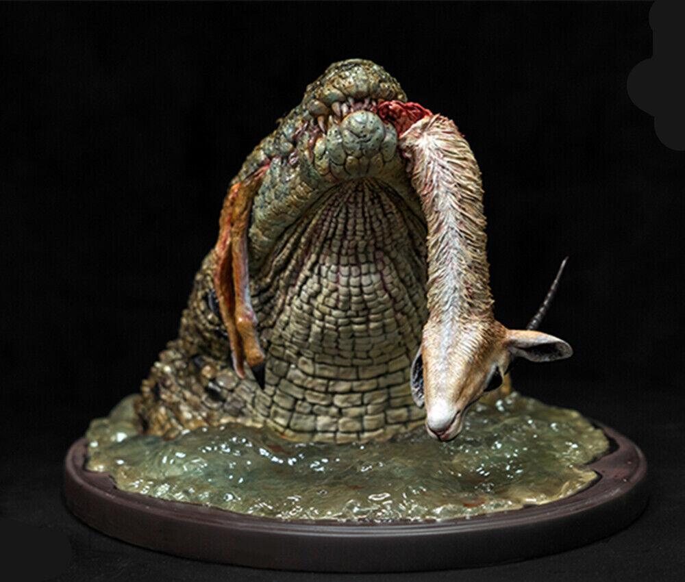 Crocodylus niloticus Kill Thomson's Gazelle Animal Model Figure Collector Decor Decor Decor 88665f