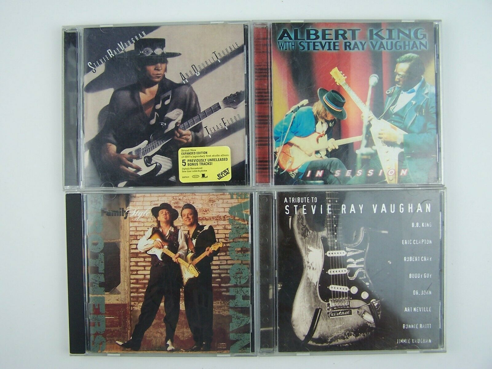 Stevie Ray Vaughan 4xCD Lot #4