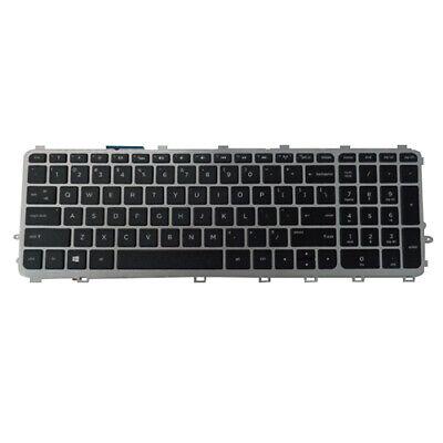 For HP envy 15-bp000 15m-bp100 15t-bp000 Keyboard backlit Silver Czech Slovak