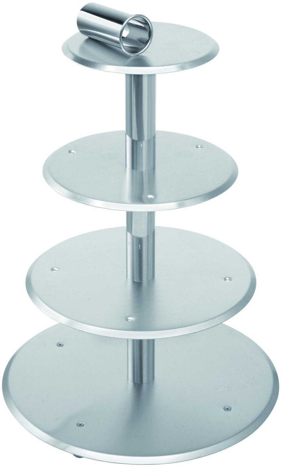 Étoile Steiger Mariage Gateau Support Support à secteurs 5 pièces 20-26-32-40-45 cm