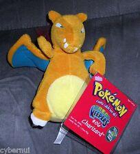 Pokemon Stuffed Plush Figure Charizard w/ Tags Hasbro 1998 *MINT* 1st Release