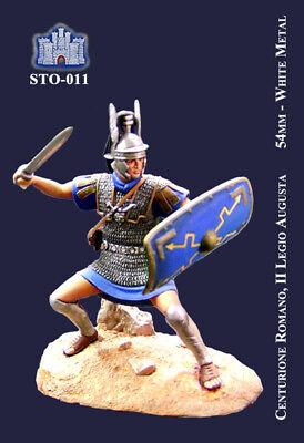 Aggressivo Ss La Fortezza 54 Mm - Centurione Romano, Ii Legione Augusta (sto-011)