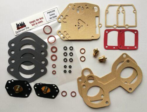 Rebuild Kit for 2 x Solex 40 DDH carburetors