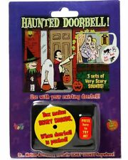 Halloween Haunted Doorbell Animated Decoration Animatronic Prop