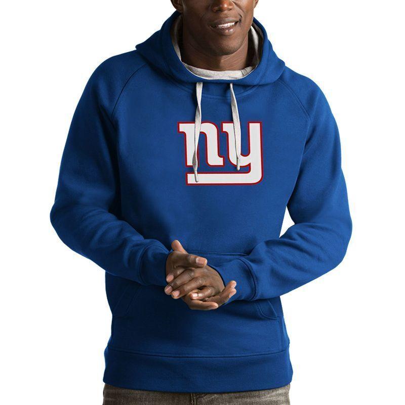 Nwt Antigua NFL Team Bekleidung Dunkel Blau New York Giants Victory Kapuze  L