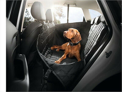 Audi Genuine Fond protection rear seat cover dog animal blanket protector