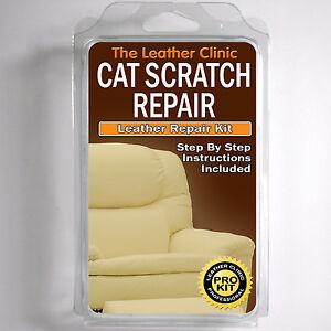 tlc leder katze kratzer reparatur set einfach zu verwenden. Black Bedroom Furniture Sets. Home Design Ideas