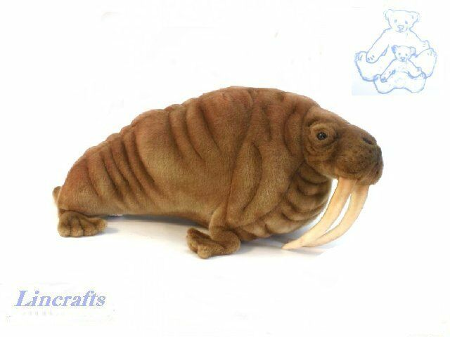 Hansa Walrus 5331 Plush Soft Toy Sea Creature Sold by Lincrafts Established 1993