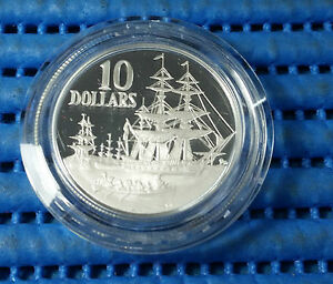 1988-Australia-Bicentennial-Commemorative-10-Silver-Proof-Coin-1788-1988