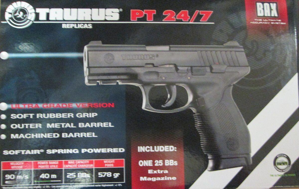 GS Taurus PT24/7 Softairpistole Softair Pistole Waffe Airsoft 0,5 Joule 201889