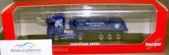 Herpa 121460 : Scania R09 HL baukipper-tractor