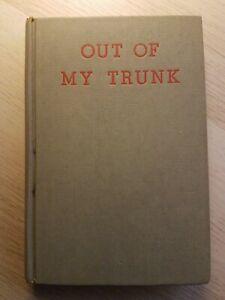 Out Of My Trunk 1950 Milton Berle  Jokes Illustrated Bill Crawford Hardback