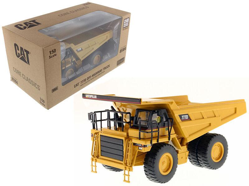 Cat Caterpillar 777D Apagado Carretera Camión 1 50 por Diecast Masters 85104