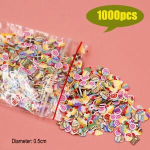 1000pc-Miniature-Mixed-Cookies-Cake-Slices-Dollhouse-Food-DIY-Fimo-Nail-Art-1-12