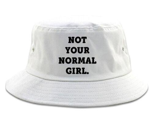 Very Nice Not Your Normal Girl Weird Bucket Hat