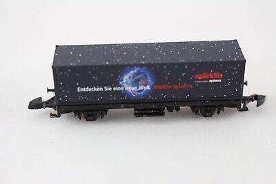 8615 Container Carrello Märklin Sistema Traccia Z + + Top-mostra Il Titolo Originale